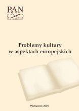 Problemy kultury w aspektach europjeskich